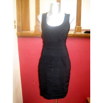 Vestido Negro Super Moderno Talla Mediana