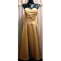 Lilasori Oferta De Vestido De Coctel Color Mostaza Talla 28