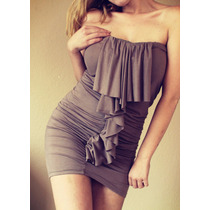 Vestido Incluye Un Cinturon De Regalo