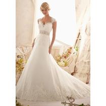 Vestido Novia Nuevo Barato Bonito Elegante Princesa Sirena74
