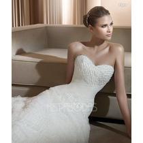Vestido De Novia Modelo Figura Talla 2-4