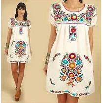Vestidos Mexicanos Bordados