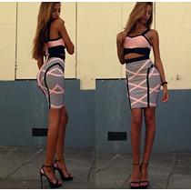 Vestido Bandage Envió Gratis Moda Japonesa, Asiática, Antro