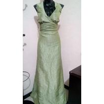 Vestido Verde Manzana Talla 13