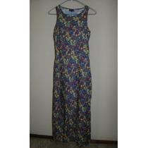 My Michelle Vestido Azul Rey Floreado Talla 3-4!!! Vst543