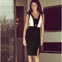Vestido Formal A La Rodilla Elegante Envío Gratis 3005