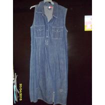 Vestido Mezclilla T.10 French Kuff Original
