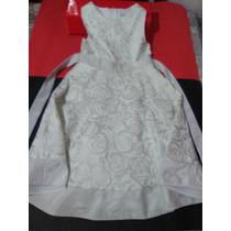 Vestido Blanco Niña 6x Años Rake Editions