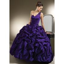 Hermoso Vestido De Quinceañera Cristales Alta Costura