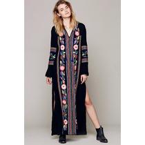 Suku 90912 Vestido Largo Con Tejido Moda Asia $949