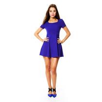 Catwalk88 - Vestido Corto - Azul - Cw88-10140699