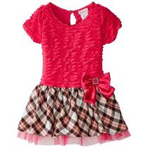 Vestido Niña Rosa Youngland, Talla 4 Años