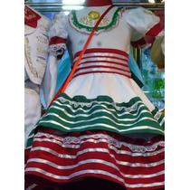 Escaramusa Tri Vestido Charro Fiestas Patrias