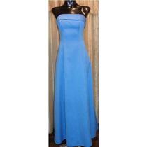 Lilasori Vestido De Fiesta Importado Talla Xs Color Azul