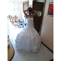 Vestido De Novia Princesa Talla Ch