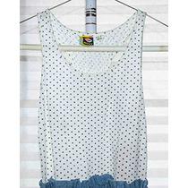 Vestido Roxy 100% Algodon/mezclilla