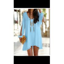Mgboutique Mini Vestido O Bluson Elegante Moda
