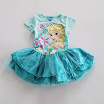 Vestido Frozen - Elsa (frozen, Peppa Pig, My Little Pony)