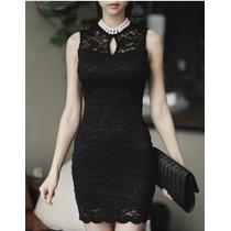Vestido Negro, Casual, Elegante, Moda Japonesa, Oriental