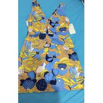 Vestido Flores Zara Talla M/28 Nuevo