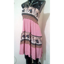 Vestido Playero Con Resorte Unitalla