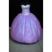 Oferta Vestido De Quince Xv Años Nuevo Color Lila
