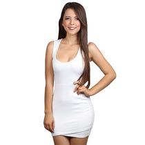 Vestido Casual Corto Blanco