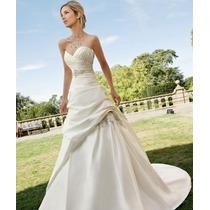 Vestido De Novia Bridenformal Diseñadora Ronald Joyce