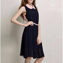 Vestido Corto Fiesta Suelto Moderno Elegante 2575
