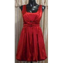 Lilasori Vestido De Coctel Color Rojo Talla S Marca Candies