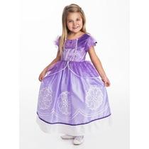 Vestido De Princesas Sofia Amulet Princess X-large
