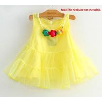 Moderno Vestido Para Niña Fiestas Cocteles Moda Koreana 2016
