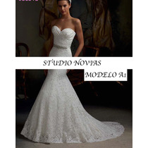 Vestido De Novia Nuevo Barato Modelo128 Vestido Ivory Blanco