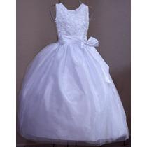 Vestido De Comunión - Rosy - Nuevo