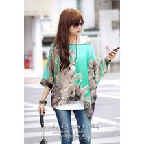 Bonita Blusa Super Barata Moda Japonesa En Promocion