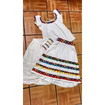 Vestido De Tabasqueña-gala.
