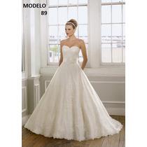 Vestido Novia Nuevo Barato Bonito Elegante Princesa 89