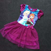 Vestido Frozen - (frozen, Peppa Pig, My Little Pony)