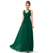 Baituya Vestido De Boda De Noche De Baile Verde Chic