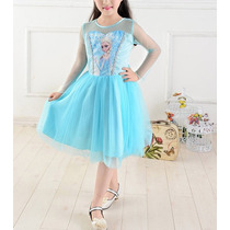 Vestido Frozen Elsa - (frozen, Peppa Pig, My Little Pony)