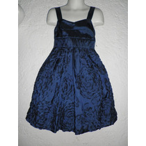 Dress Vestido Satinado Niña 6 - 7 Años Fiesta Pajecita
