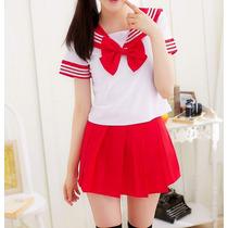Uniforme Escolar Estilo Japones Dif. Colores Cosplay Seifuku