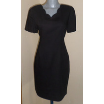 Ann Taylor Studio Padrisimo Vestido Negro Talla 30