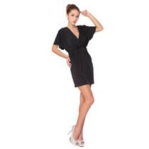 Baituya Vestido De Fiesta Cóctel De Noche Del V-cuello Negro
