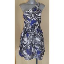 Vestido De Diseñador Trina Turk Seda/ Algodon Talla Chica