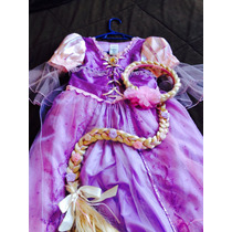 Disfraz De Rapunzel Y Trenza