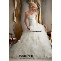 Vestido Novia Nuevo Barato Bonito Elegante Corte Princesa 28