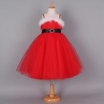 Vestido Navidad Santa Niña Moda Importada