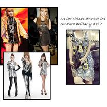 Vestido Kpop La 23 2en1 Moda Corea Ropa Coreana