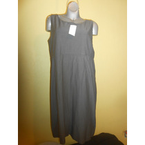 Vestido Eileen Fisher Stretch Talla Extra 2x 20-44 Mexico